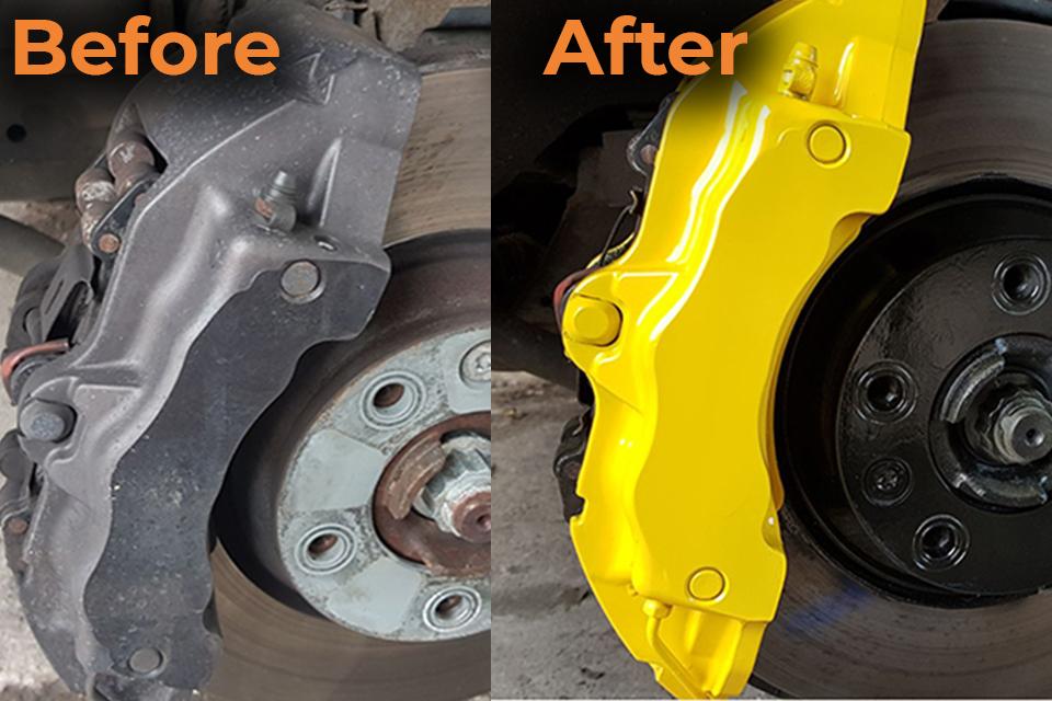 Brake Caliper Painting & Refurbishment
