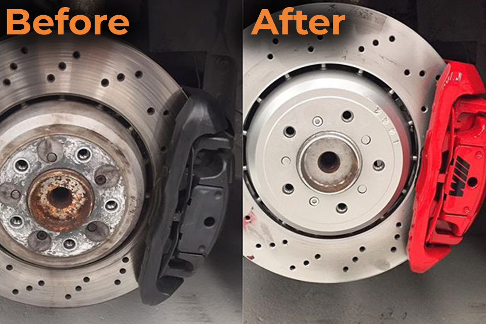 Brake Caliper Painting & Refurbishment