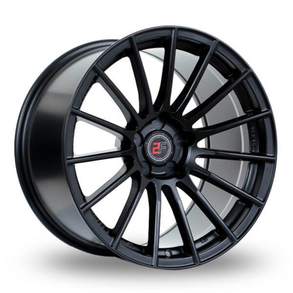 18″ 2FORGE ZF1 Matt Black For VW Transporter