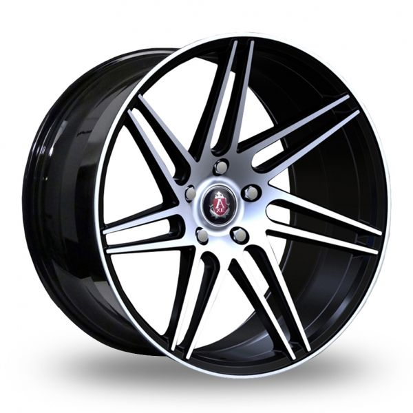 AXE EX31 BLACK POLISHED ALLOY WHEELS