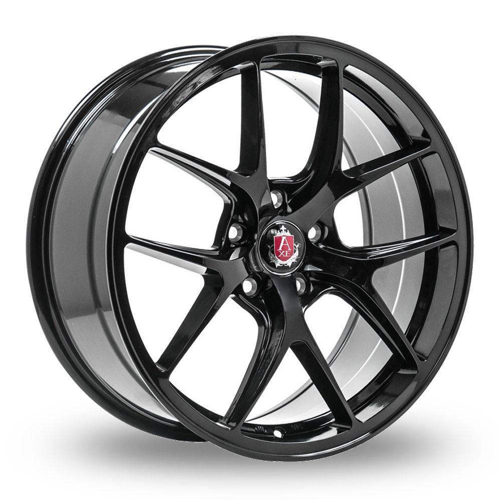 AXE EX34 GLOSS BLACK ALLOY WHEELS
