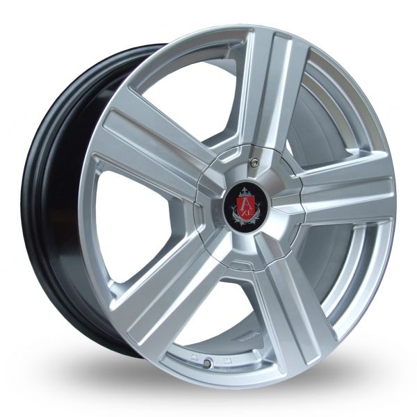AXE EX6 HYPER SILVER ALLOY WHEELS