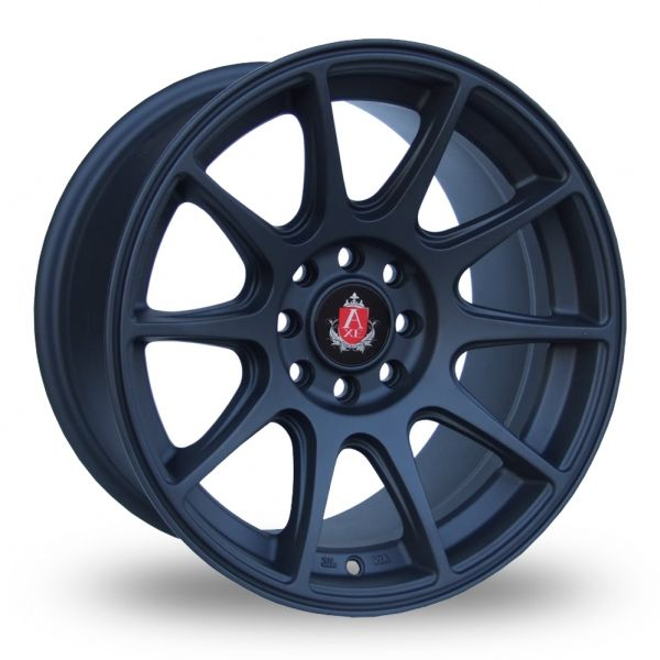 AXE EX8 BLACK ALLOY WHEELS