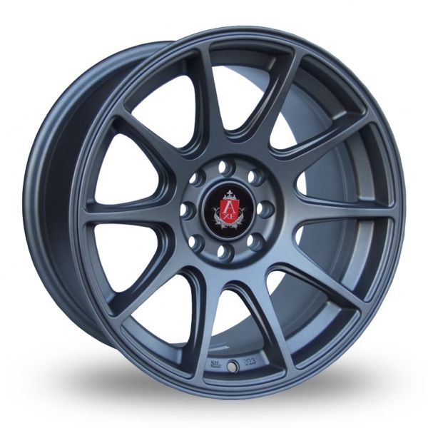 AXE EX8 GREY ALLOY WHEELS