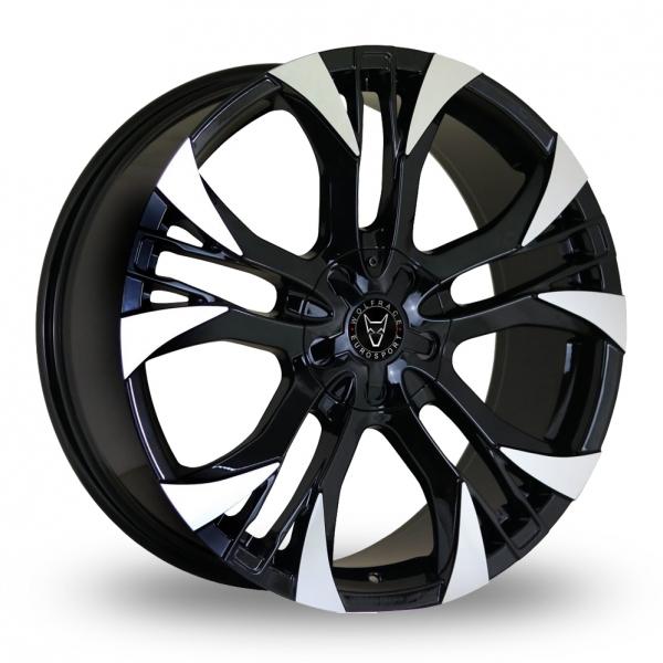 18″ Wolfrace Assassin GT2 Black Polished For VW Transporter