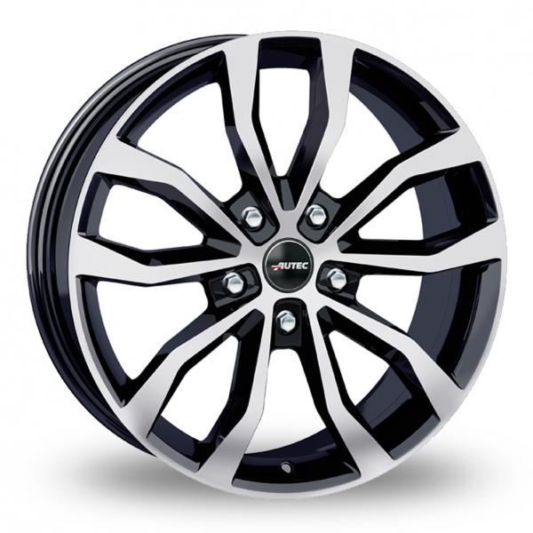 18″ Autec Uteca Black Polished For VW Transporter