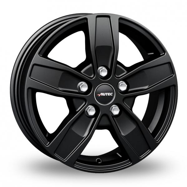 17″ Autec Quantro 5 Matt Black For Ford Transit Custom