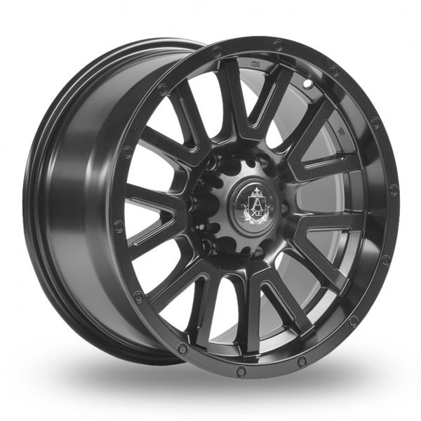 AXE AT1 SATIN BLACK ALLOY WHEELS