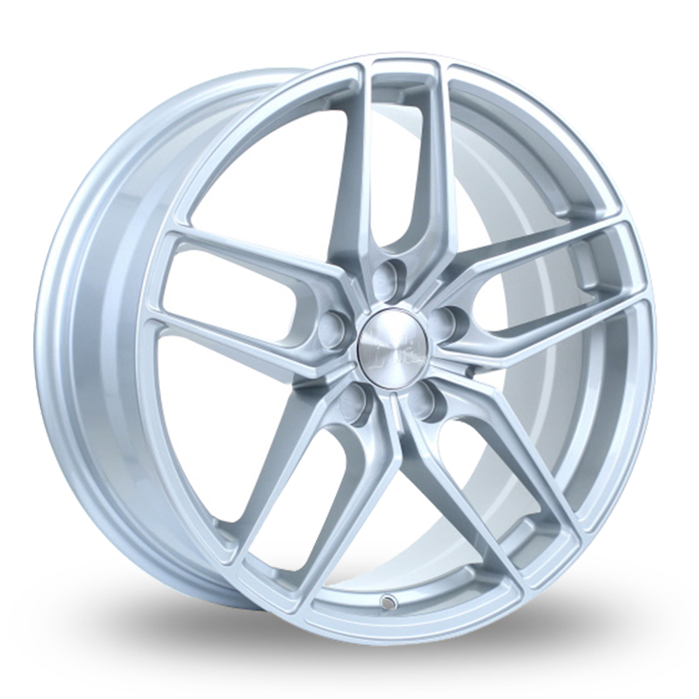 BOLA B11 SILVER ALLOY WHEELS
