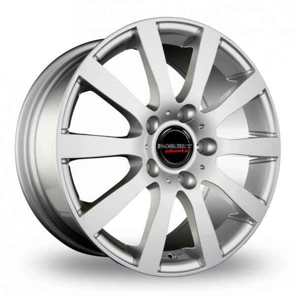 18″ Borbet C2C Silver For Ford Transit Custom
