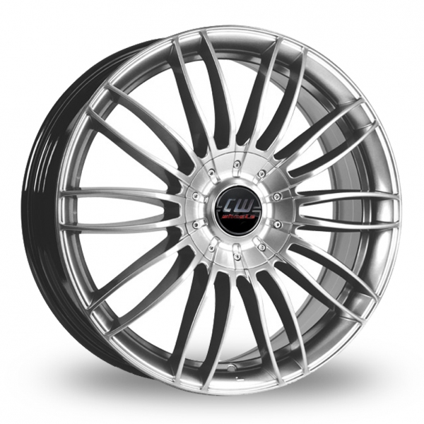 17″ Borbet CW3 Silver For Ford Transit Custom