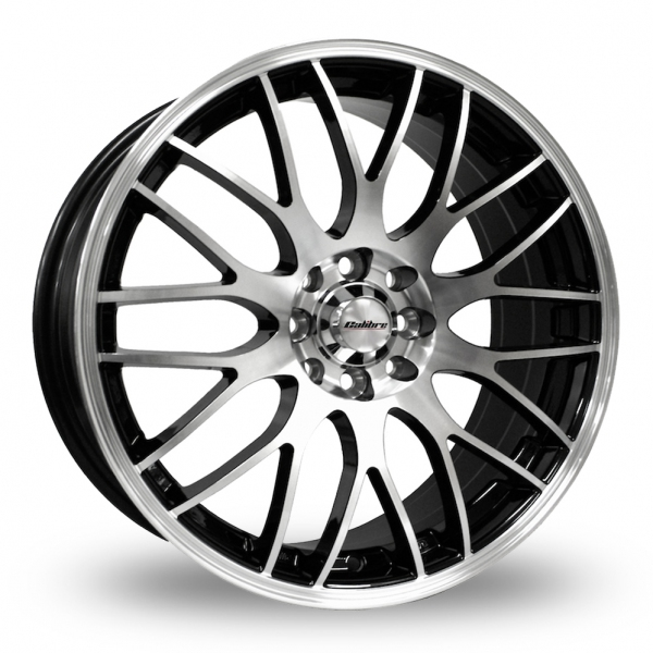 CALIBRE MOTION 2 BLACK POLISHED ALLOY WHEELS