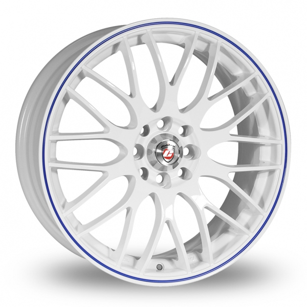 CALIIBRE MOTION 2 WHITE AND BLUE ALLOY WHEELS