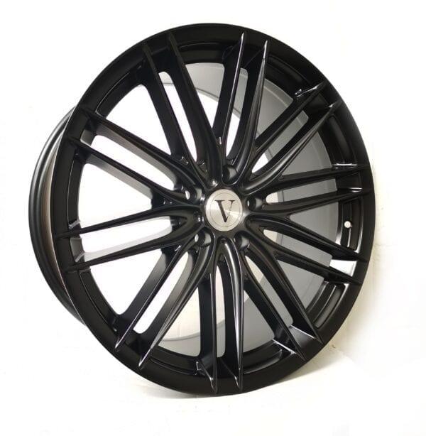 19″ Wider Rear DaVinci Phantom Satin Black for BMW 1,2,3,4,5 Series