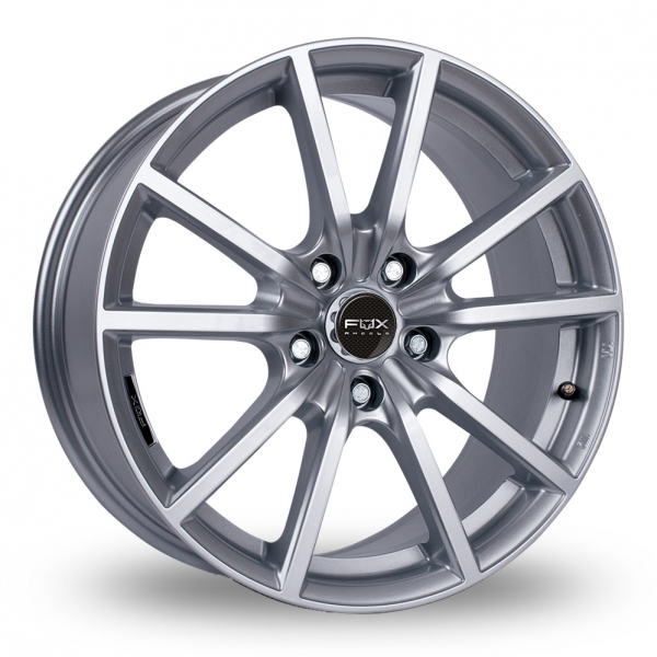 17″ Fox Racing FX10 Hyper Silver for Ford Transit Connect