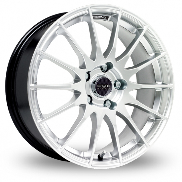 FOX RACING FX004 SILVER ALLOY WHEELS