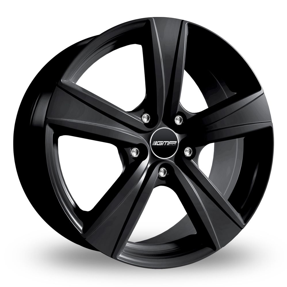 GMP ITALIA ARGON MATT BLACK ALLOY WHEELS