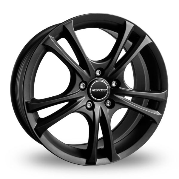 GMP ITALIA EASY R MATT BLACK ALLOY WHEELS
