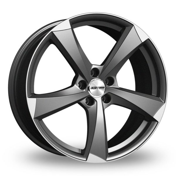 GMP ITALIA ICAN ANTHRACITE POLISHED ALLOY WHEELS