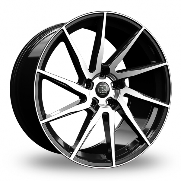 Hawke Arion Black Polished Alloy Wheel
