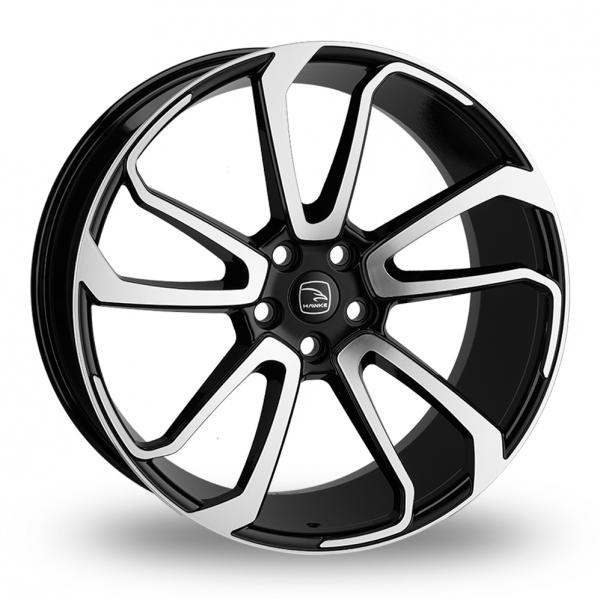 Hawke Falkon Black Polished Alloy Wheel