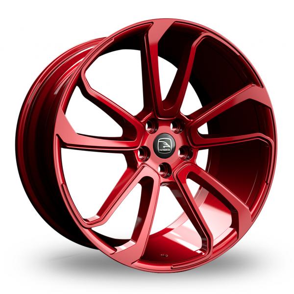 Hawke Falkon Red Metal Alloy Wheel