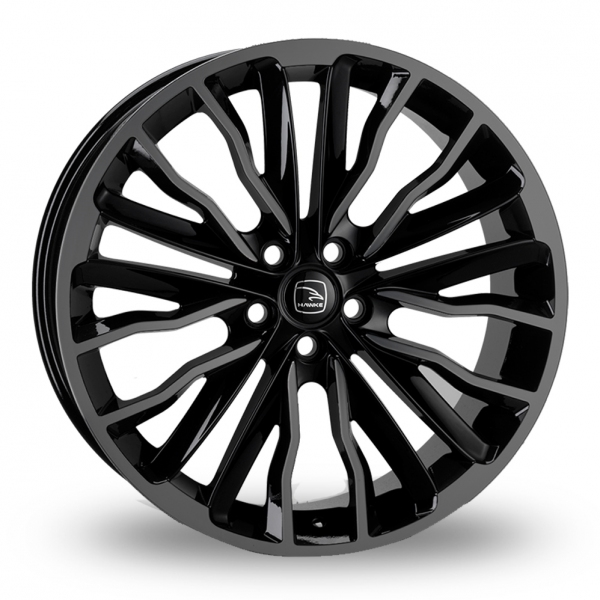 Hawke Harrier Black Shadow Black Alloy Wheel