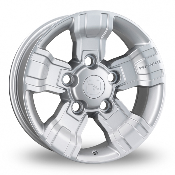 Hawke Osprey Silver Alloy Wheels