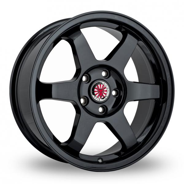 18″ Wolfrace Asia-Tec JDM Satin Black for Mercedes Vito
