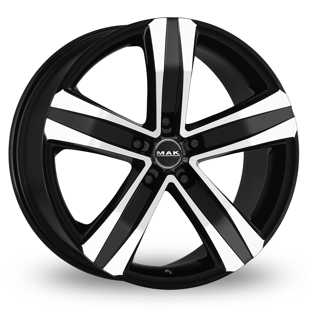17″ Mak Stone 5 Black Mirror For Ford Transit Custom