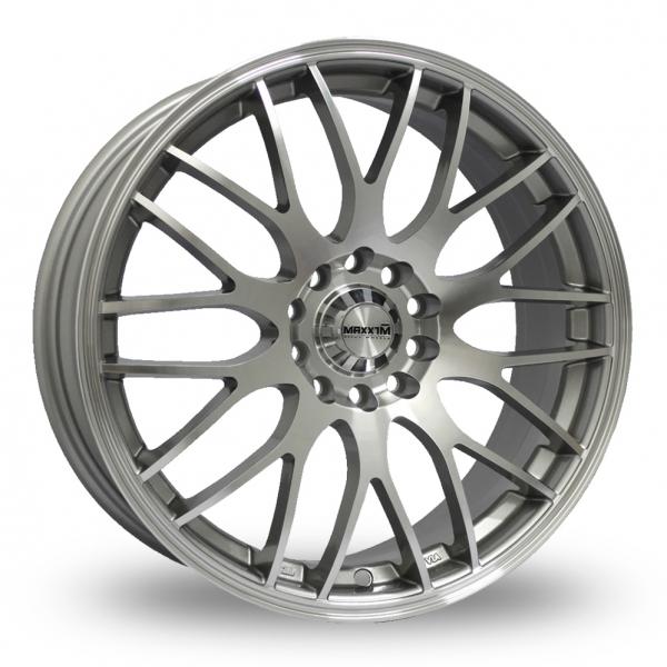 Maxxim Maze Silver Polished Alloy Wheel