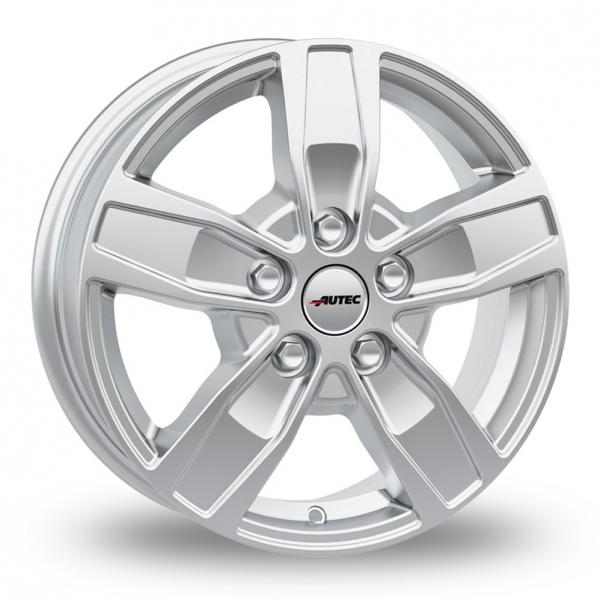 17″ Autec Quantro 5 Silver For Ford Transit Custom