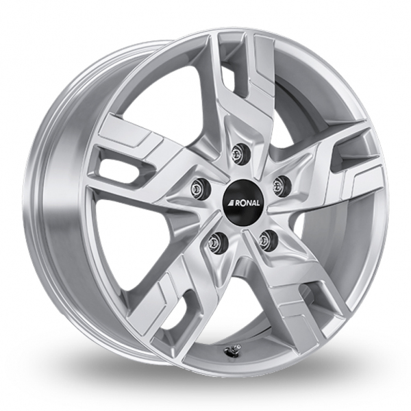 17″ Ronal R64 Silver For Ford Transit Custom