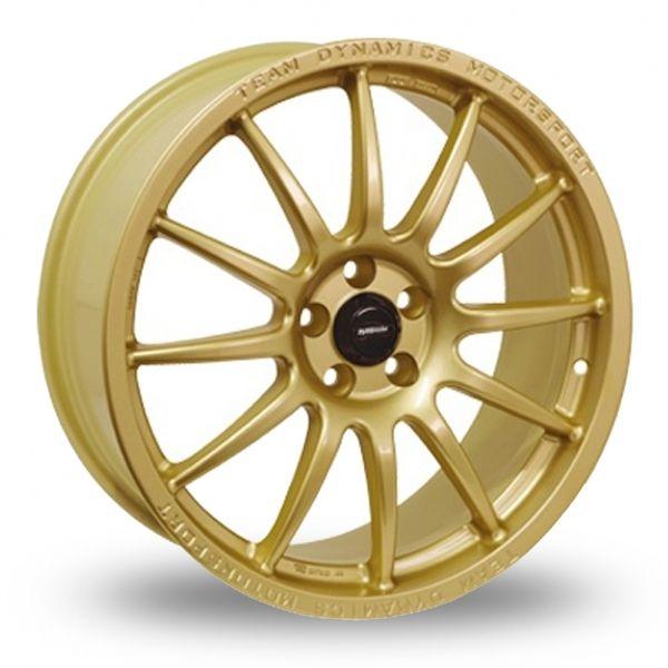 TEAM DYNAMICS PRO RACE 1 3 GOLD ALLOY WHEELS