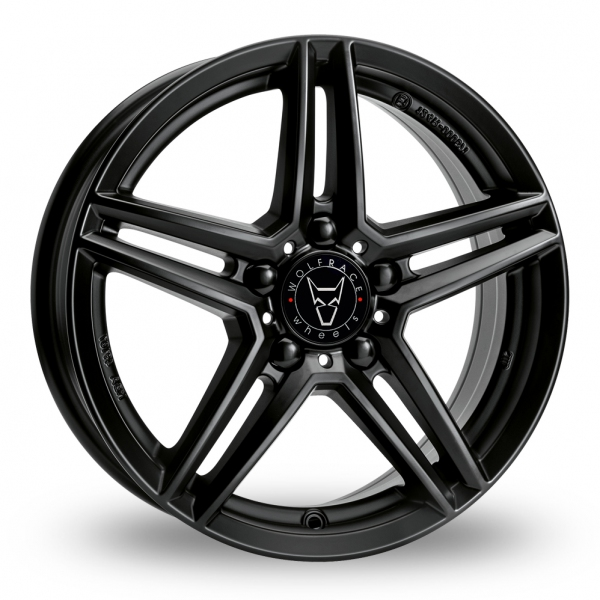 16″ Wolfrace M10 Black for Volkswagen Caddy Maxi