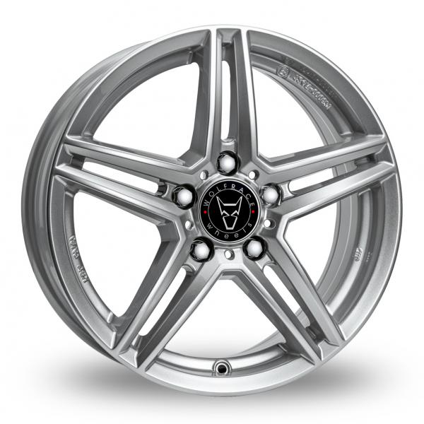 18″ Wolfrace M10 Silver for Mercedes Citan