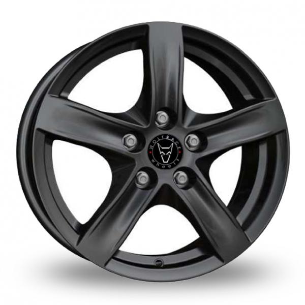 Wolfrace Arktis Gloss Black Alloy Wheel