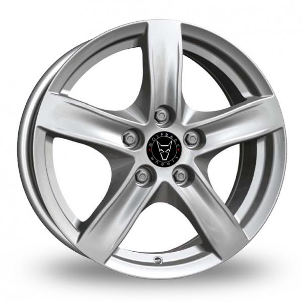 Wolfrace Arktis Silver Alloy Wheel