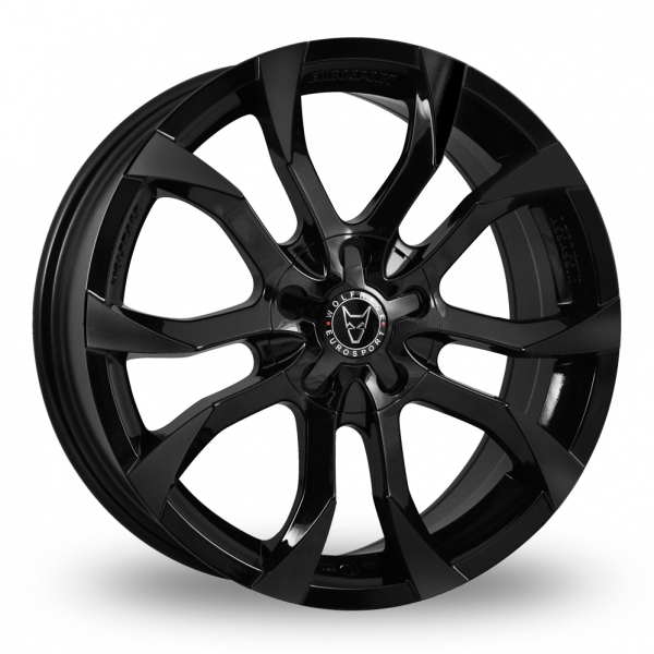 Wolfrace Assassin Black Alloy Wheel