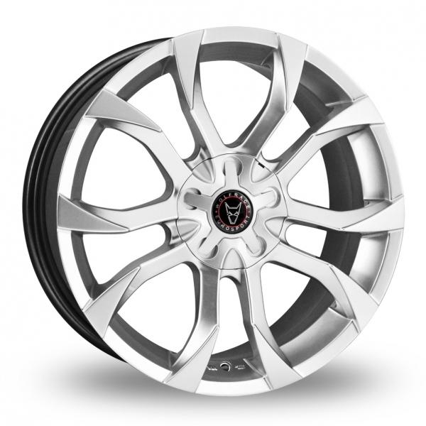 Wolfrace Assassin Silver Alloy Wheel