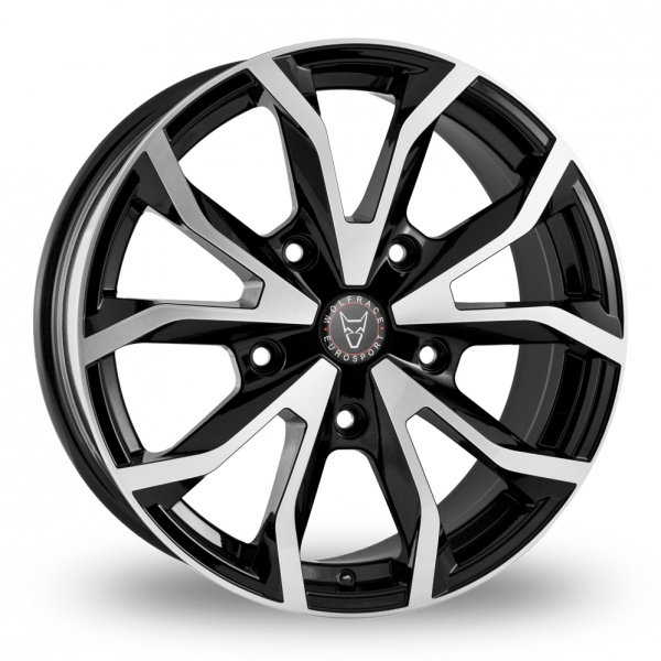 Wolfrace Assassin TRS Black Polished Alloy Wheel