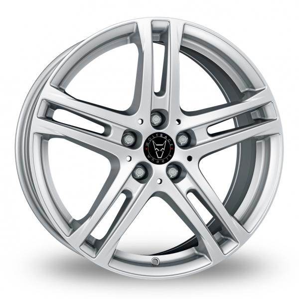 Wolfrace Bavaro Silver Alloy Wheel