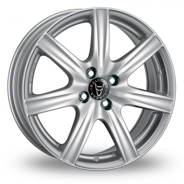 Wolfrace Davos Silver Alloy Wheel