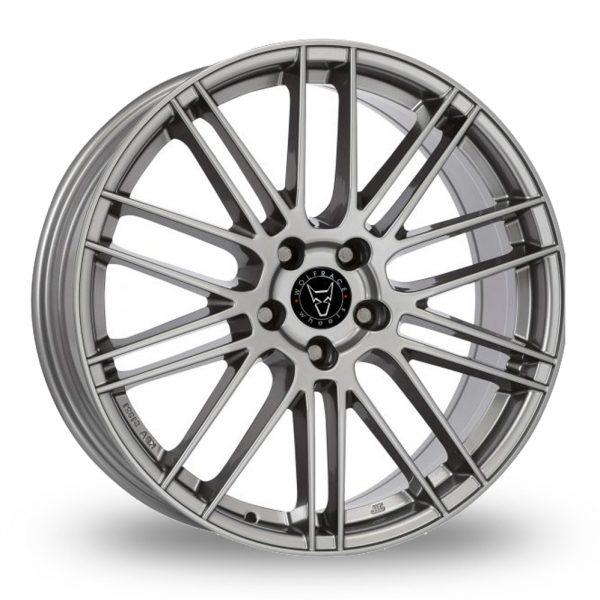 Wolfrace Kibo Gun Metal Alloy Wheel