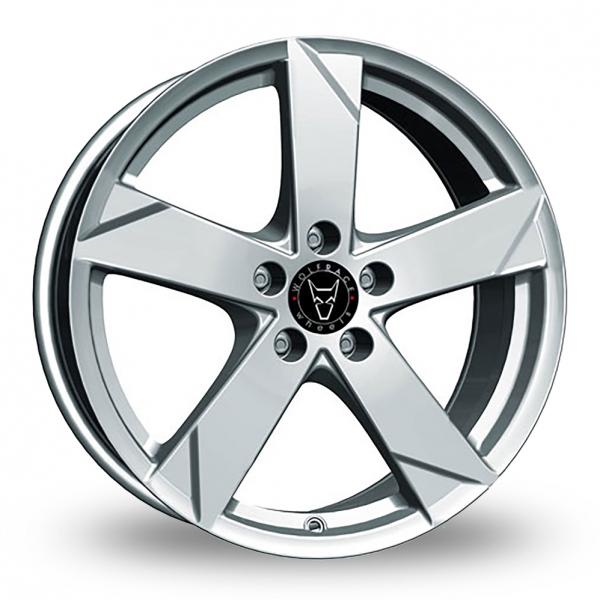 Wolfrace Kodiak Polar Silver Alloy Wheel