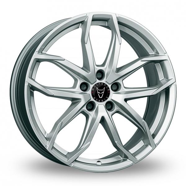 Wolfrace Lucca Polar Silver Alloy Wheel