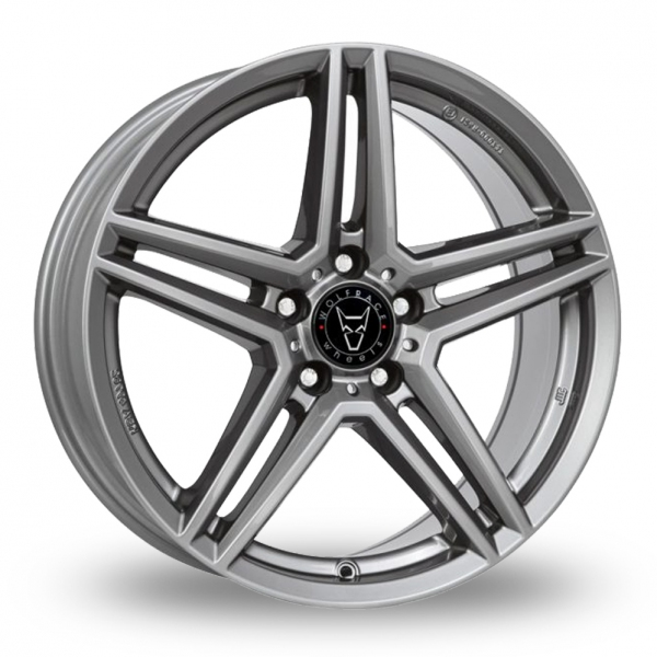 17″ Wolfrace M10 Gun Metal for Ford Transit Connect