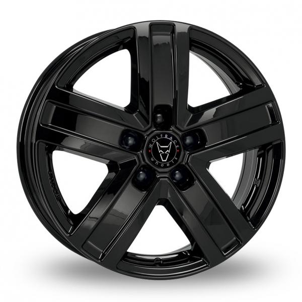 17″ Wolfrace Transporter TP5 Gloss Black for Mercedes Vito