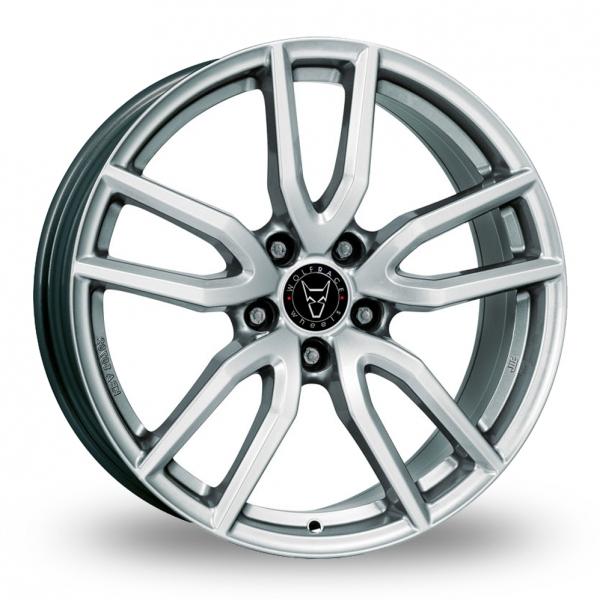 Wolfrace Torino Silver Alloy Wheel