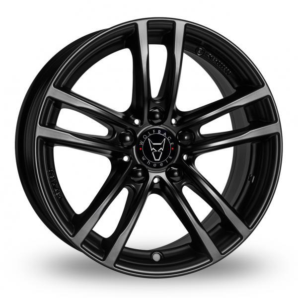 Wolfrace X10 Black Alloy Wheel
